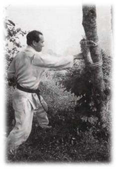 Тренировки на горе Минобу